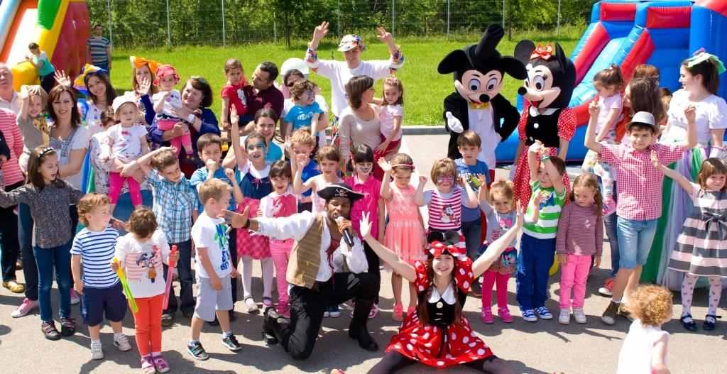 petrecere de copii cu ocazia zilei de 1 iunie