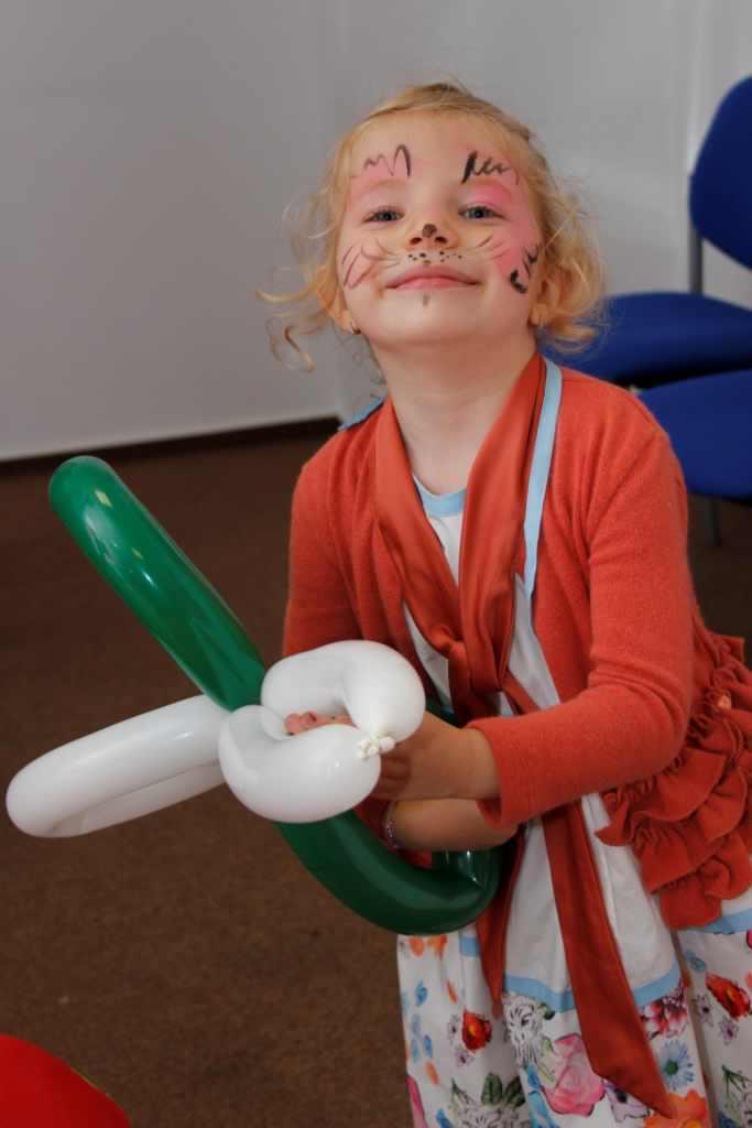 baloane si desene fata copii