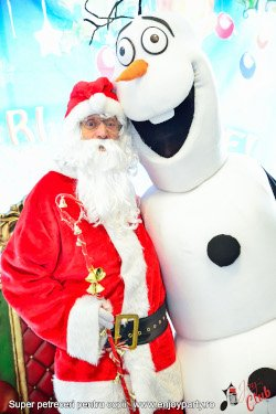 Mos Craciun si mascota Olaf la evenimente copii